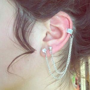 Jewelry - Double EarCuff Earings