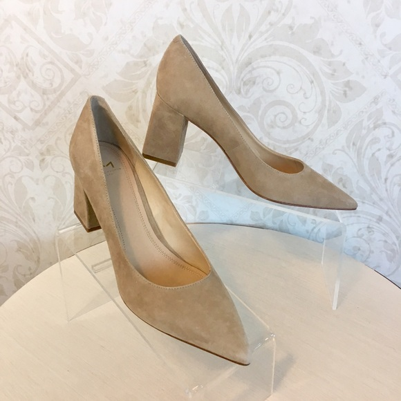 MARC FISHER Zala Suede Pointed Toe Pumps LvXNXq