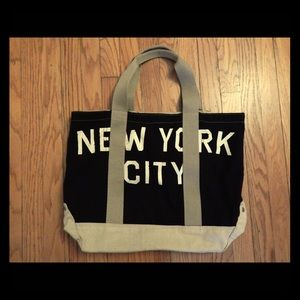 American Eagle Big NYC Canvas Tote