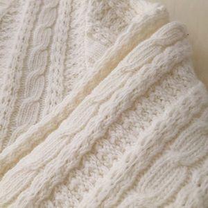 J. Crew Sweaters - Chunky Knit Crewneck Sweater | Ivory | J. Crew