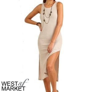 West Market SF Dresses & Skirts - -NEW ARRIVAL-🎉 The Willow Dress in Sand