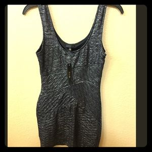 New!! NWT Beautiful Charcoal shimmer dress