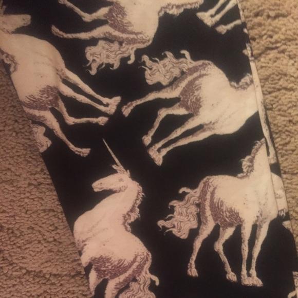 c0b8b26ee4169 LuLaRoe Pants | Super Rare Actual Unicorn Leggings Os | Poshmark