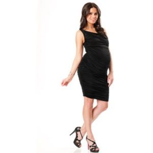 Heidi Klein Dresses & Skirts - Loved by Heidi Klum Ruched Maternity 👗Dress 👗
