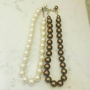 Jewelry - Bundle of Faux Choker Style Pearls