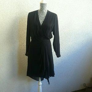 CHANEL Vintage Silk Dress