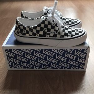 vans checkerboard era lx