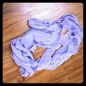 Accessories - Flowy Purple scarf-gorgeous material, wavy!