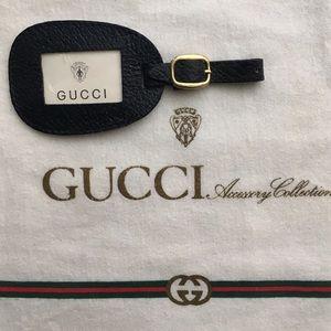Gucci Handbags - NWT! Gucci Acsry Collectn Blue Buckle Luggage Tag