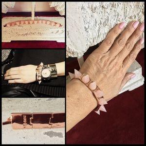 CC Skye Jewelry - CC SKYE ☠️ Punk Princess - Rose Quartz/Rose Gold