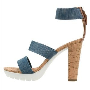 Replay Shoes - SAT. SALE! 🌿Replay platform denim sandals NWT