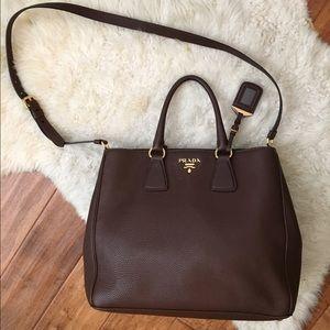 Prada purse, versatile crossbody or shoulder bag