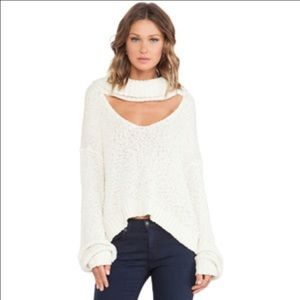 Somedays Lovin Sweaters - Somedays loving cut out sweater