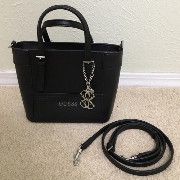 96ac77cafeae Guess Handbags - Guess Delaney Mini Tote
