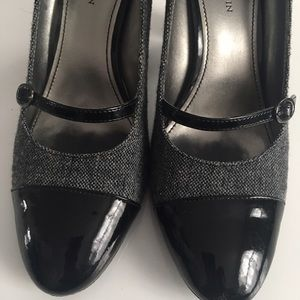 Anne Klein Shoes - Tweed & patent Anne Klein shoes very beautiful ✨
