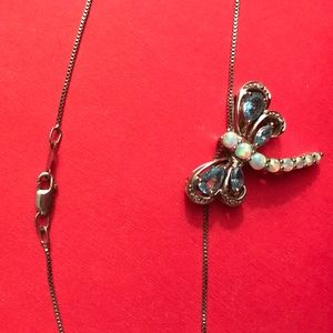 e956c3810 Kay Jewelers Jewelry | Opal Dragonfly Necklace | Poshmark