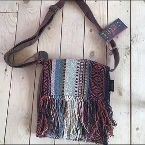 Handbags - Boho fringe canvas handbag 👜