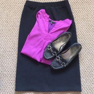 Sunny Leigh Black Pencil Skirt