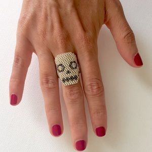 Jewelry - Amazing Hand Made Calavera/Skull Ring
