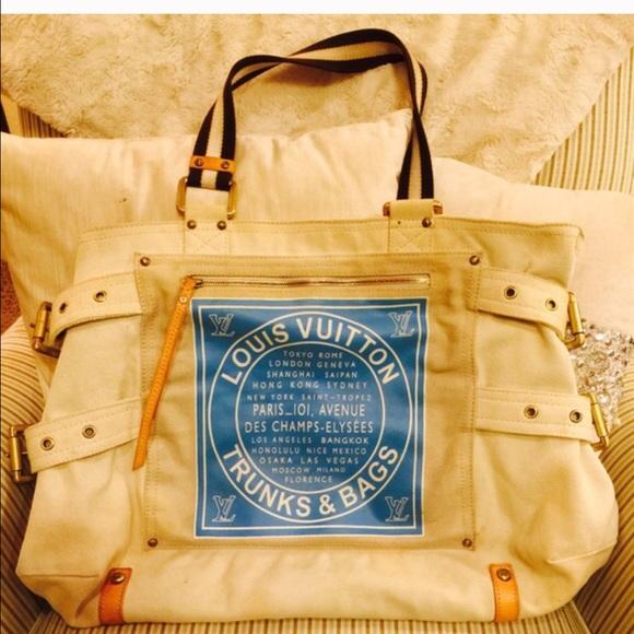 dfd738df22 Louis Vuitton Handbags - Louis Vuitton Globe Shopper Cabas tote GM
