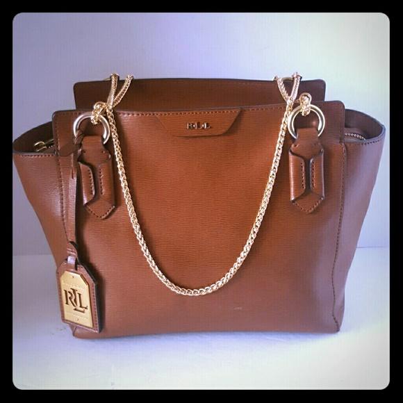 e106b754089 Ralph Lauren RRL Bags   Ralph Lauren Rll Chestnut Leather Bag   Poshmark