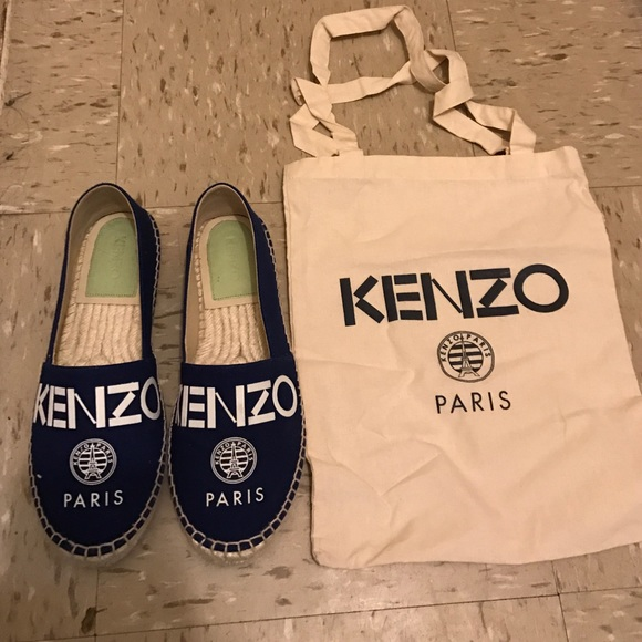 d92606b288f Kenzo Shoes | Espadrille Flats Sz 38 | Poshmark