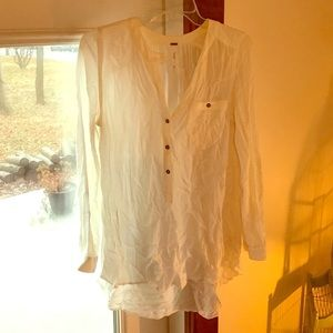 Free People Tops - Ivory free people tunic sz xs