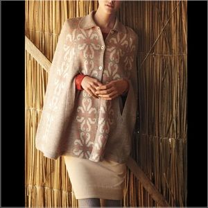 Anthropologie Jackets & Blazers - Anthropologie Buttondown Cape
