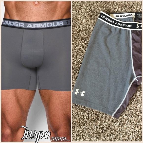Men s Under Armour Compression Shorts Boxerjock 6ab558fac0ba