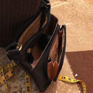 Handbags - Adjustable strap square cross body purse, new