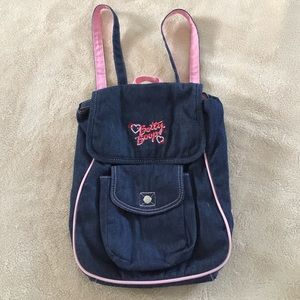 Other - ❣️ Denim Betty Boop Kids Backpack