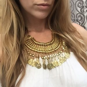 Child of Wild Jewelry - *Sale*!Gold Tribal coachella Antalya Necklace