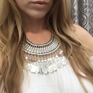 Child of Wild Jewelry - *SALE* Silver tribal coachella Antalya necklace