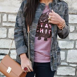 Cognac Brown Faux Leather Gold Chain Crossbody Bag