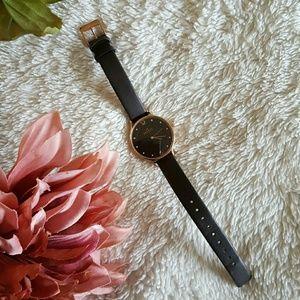 Skagen Accessories - Skagen Genuine Leather Watch
