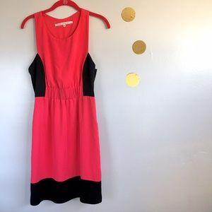 RACHEL Rachel Roy Dresses & Skirts - RACHEL Rachel Roy Pink Black Colorblock Dress