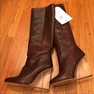 Maison Martin Margiela for H&M Shoes - Maison Martin Margiela Brown Boots New Never Worn