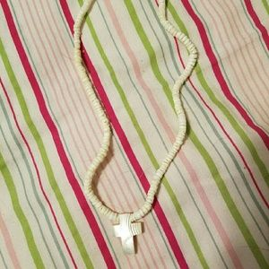 Jewelry - Shell Cross Necklace