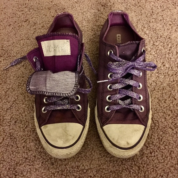 dcbe1778913357 Converse Shoes - Converse All Star ⭐ Double Tongue Sneakers 👟