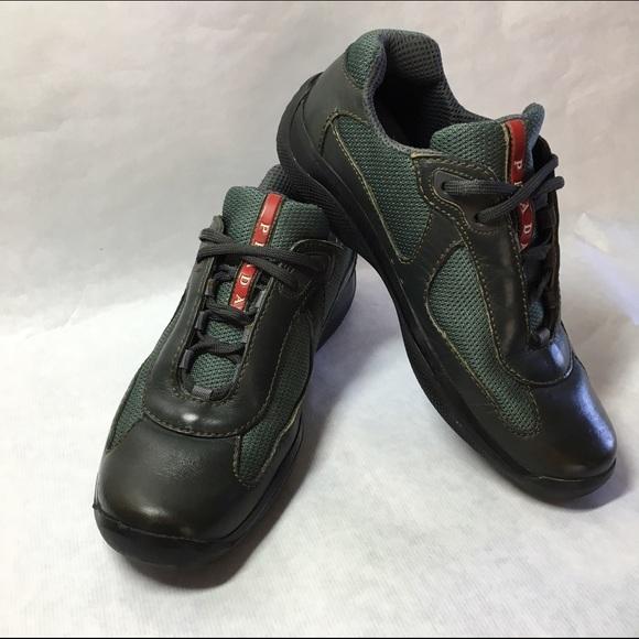 Prada Mens Americas Cup Athletic Shoes