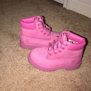 Timberland Shoes - 100% Authentic toddlers size 9 Pink Timberland