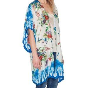 Johnny Was Jackets & Blazers - JOHNNY WAS Printed Jacket Bohemian Kimono Cardigan