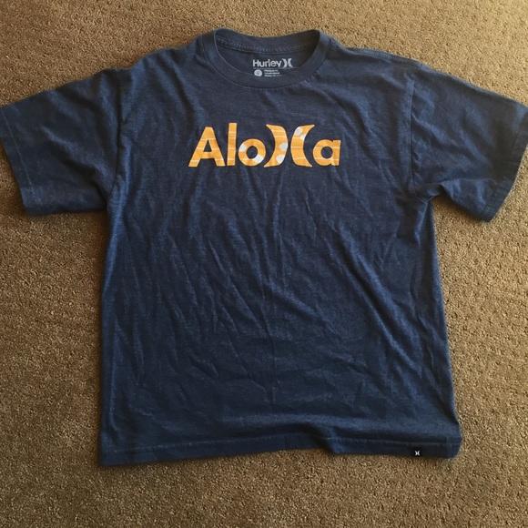 ddc88da09 Hurley Shirts & Tops   Aloha Tee Size Large Boys   Poshmark