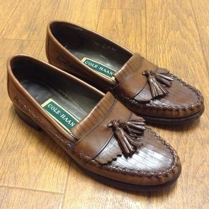 Cole Haan Shoes - Cole Haan leather tassel loafers