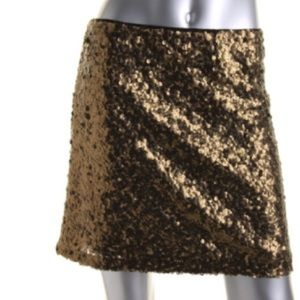Alberto Makali Dresses & Skirts - Reduced❗️Alberto Makali Gold Mesh Sequined Skirt!!