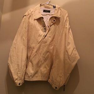 Bobby Jones yellow all weather golf jacket L