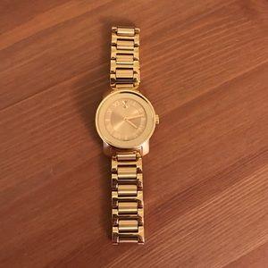 Gold Movado Bold watch