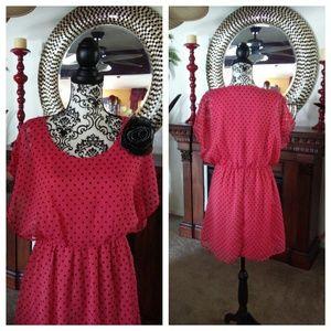 Rhapsody Dresses & Skirts - NWOT SUPER CUTE POLKA DOT DRESS