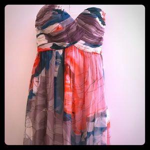 stunning Donna Morgan dress