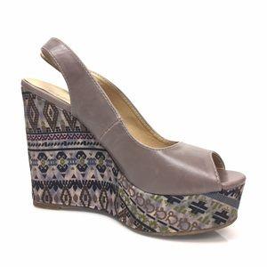 Madden Girl Shoes - Madden Girl Aztec Pattern Wedges 7.5